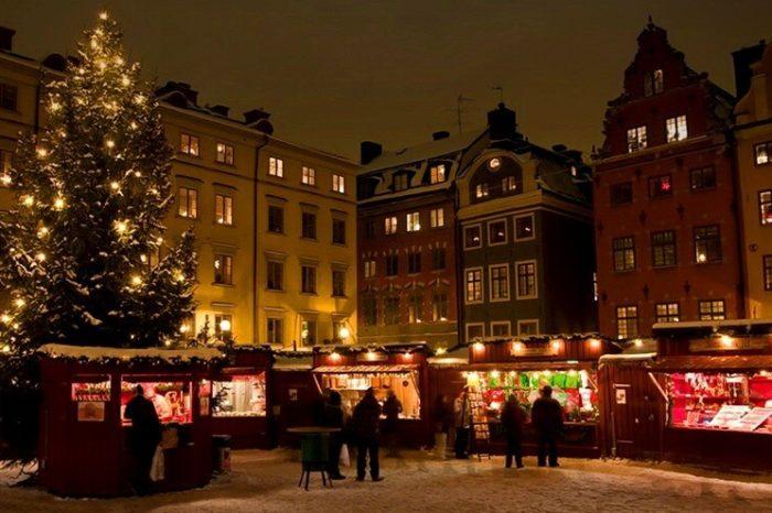 Новий Рік у країнах Балтії