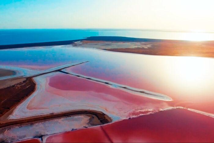 Чіл на морі+Рожеве Озеро